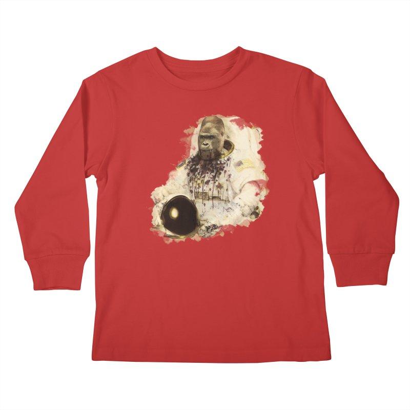 Space Kids Longsleeve T-Shirt by edulobo's Artist Shop