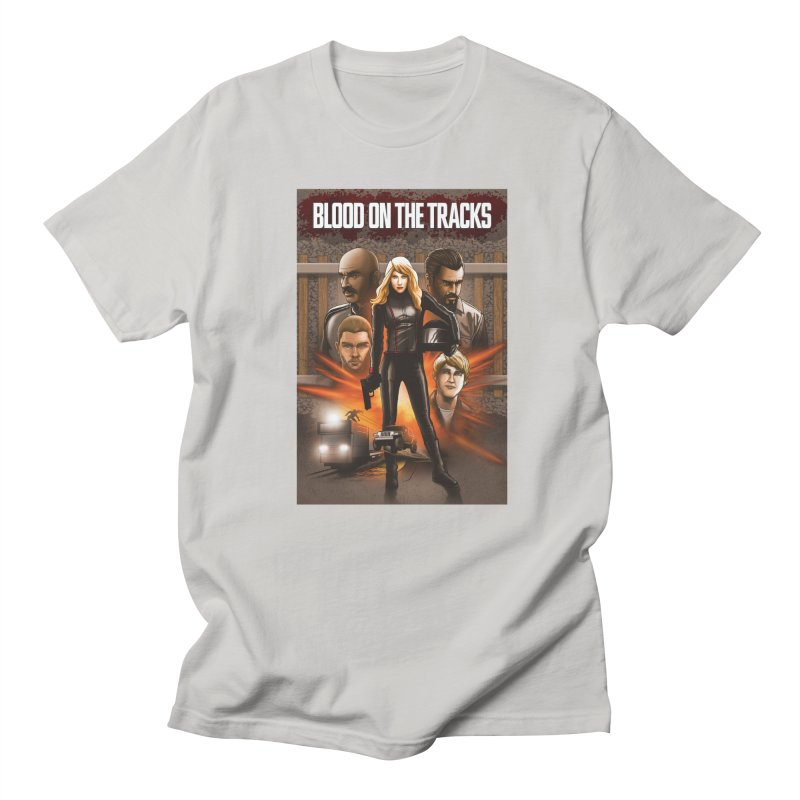 Blood on the Tracks Women's Regular Unisex T-Shirt by Brain Cloud Comics' Artist Shop for Cool T's