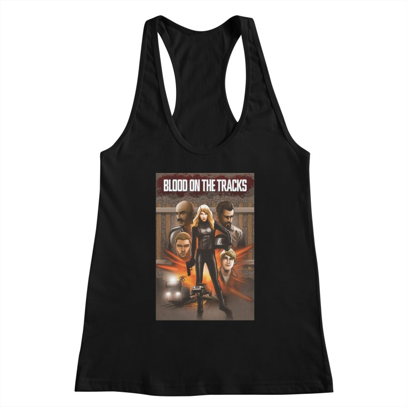 Blood on the Tracks Women's Tank by Brain Cloud Comics' Artist Shop for Cool T's