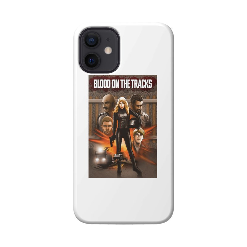 Blood on the Tracks Accessories Phone Case by Brain Cloud Comics' Artist Shop for Cool T's