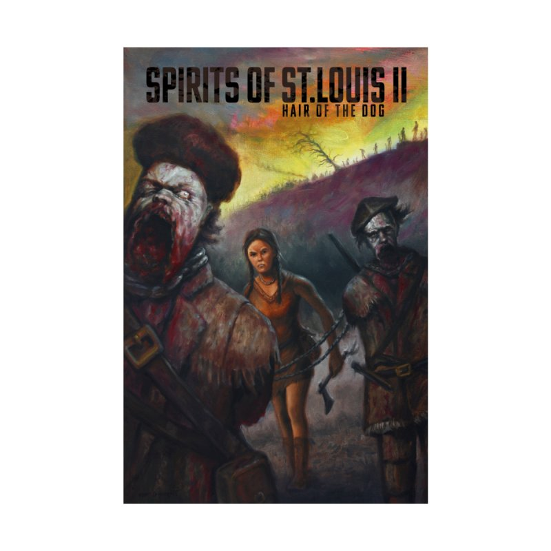 Spirits of St. Louis II - Zombie Lewis and Clark with Sacagawea by Brain Cloud Comics' Artist Shop for Cool T's