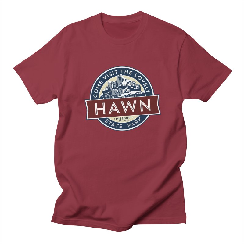 Hawn State Park Men's Regular T-Shirt by Brain Cloud Comics' Artist Shop for Cool T's