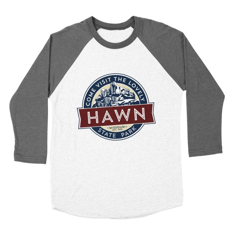 Hawn State Park Men's Baseball Triblend Longsleeve T-Shirt by Brain Cloud Comics' Artist Shop for Cool T's