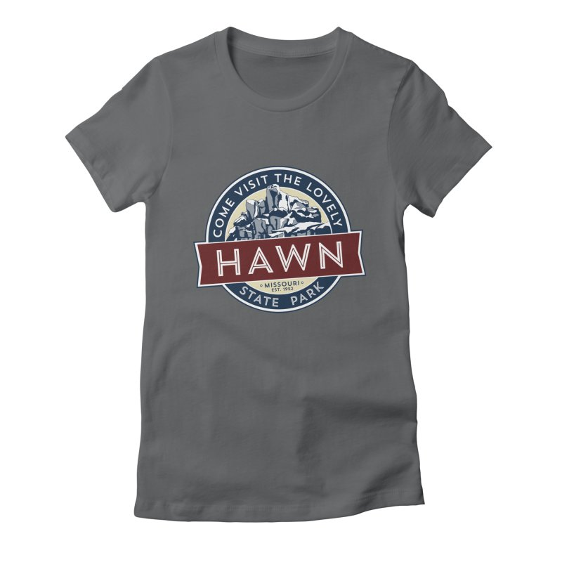 Hawn State Park Women's Fitted T-Shirt by Brain Cloud Comics' Artist Shop for Cool T's