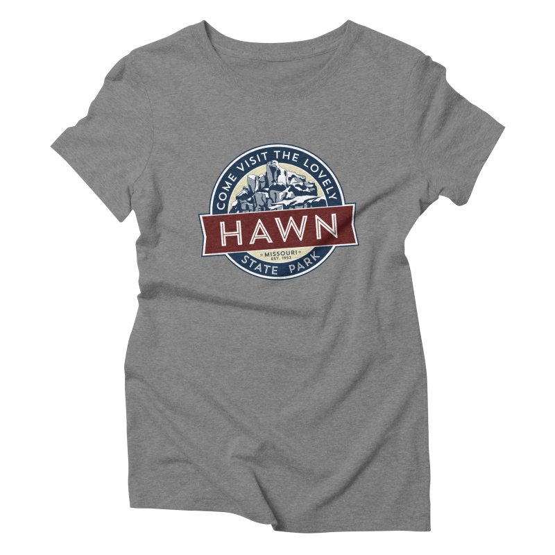Hawn State Park Women's Triblend T-Shirt by Brain Cloud Comics' Artist Shop for Cool T's