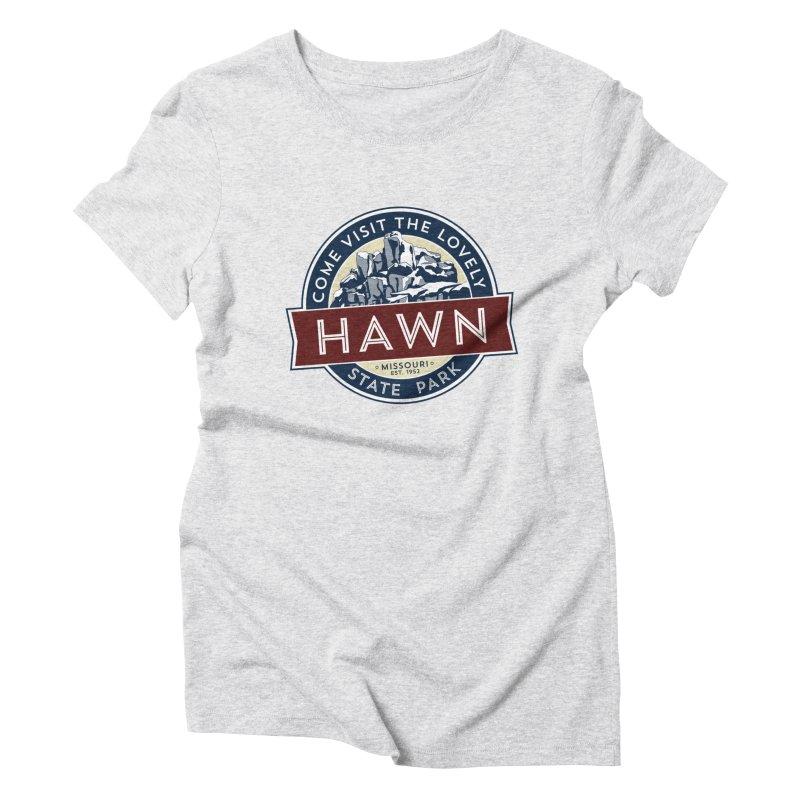 Hawn State Park Women's Triblend T-Shirt by Brain Cloud Comics' Artist Shop for Cool T's