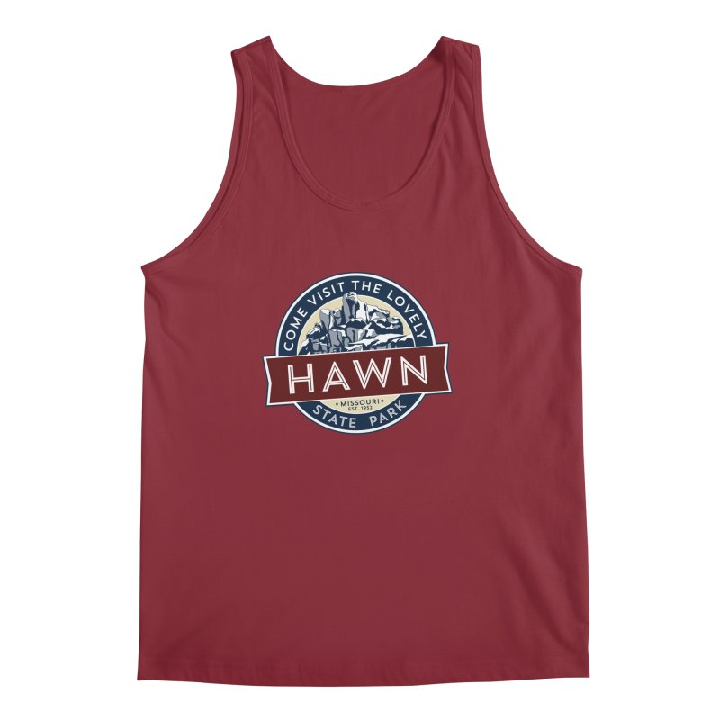 Hawn State Park Men's Regular Tank by Brain Cloud Comics' Artist Shop for Cool T's