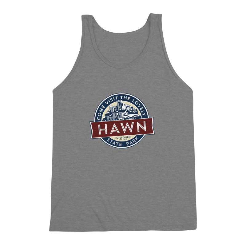 Hawn State Park Men's Triblend Tank by Brain Cloud Comics' Artist Shop for Cool T's