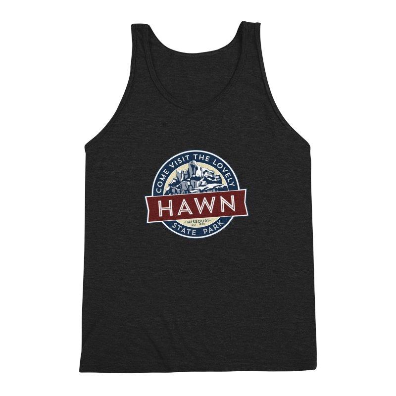 Hawn State Park Men's Triblend Tank by Brain Cloud Comics' Artist Shop for Cool T's