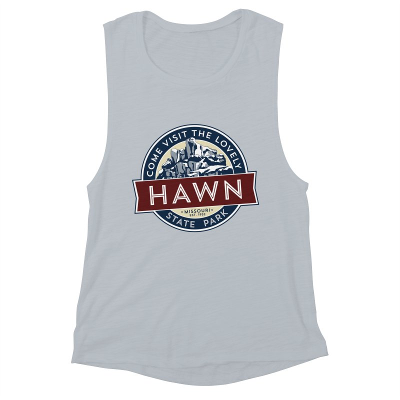 Hawn State Park Women's Muscle Tank by Brain Cloud Comics' Artist Shop for Cool T's