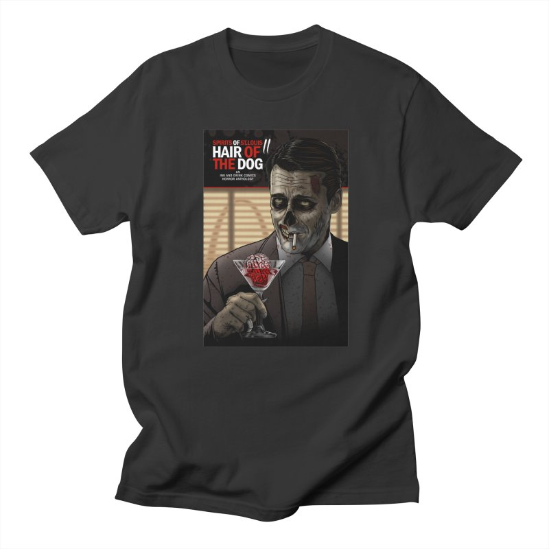 Spirits of St. Louis II - Zombie Martini  Men's T-Shirt by Brain Cloud Comics' Artist Shop for Cool T's