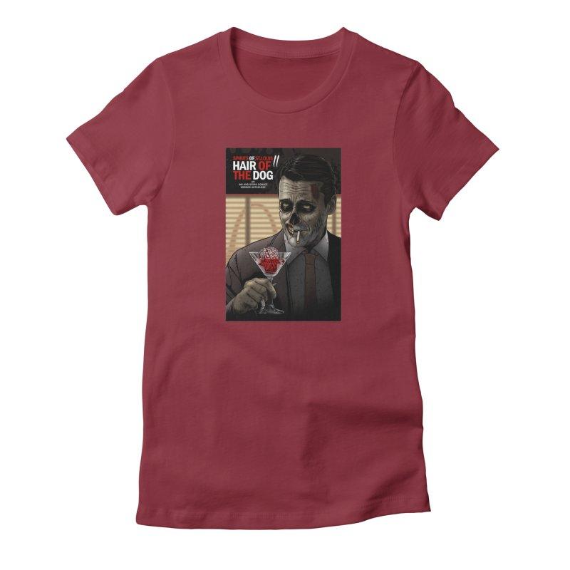 Spirits of St. Louis II - Zombie Martini  Women's T-Shirt by Brain Cloud Comics' Artist Shop for Cool T's