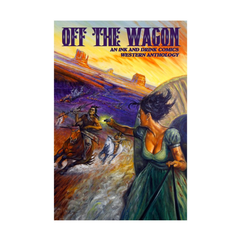 Off the Wagon Women's T-Shirt by Brain Cloud Comics' Artist Shop for Cool T's