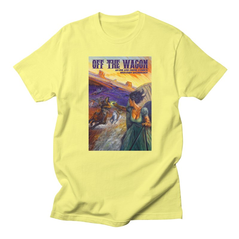 Off the Wagon Men's Regular T-Shirt by Brain Cloud Comics' Artist Shop for Cool T's