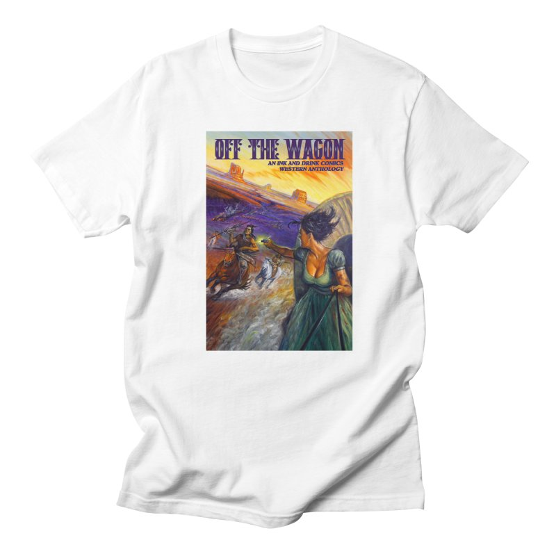 Off the Wagon Men's T-Shirt by Brain Cloud Comics' Artist Shop for Cool T's