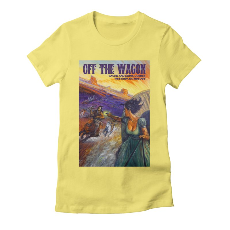 Off the Wagon Women's Fitted T-Shirt by Brain Cloud Comics' Artist Shop for Cool T's