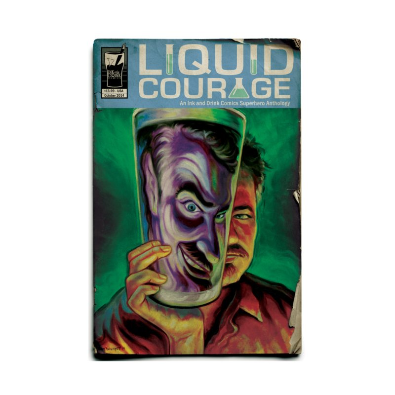 Liquid Courage   by Brain Cloud Comics' Artist Shop for Cool T's