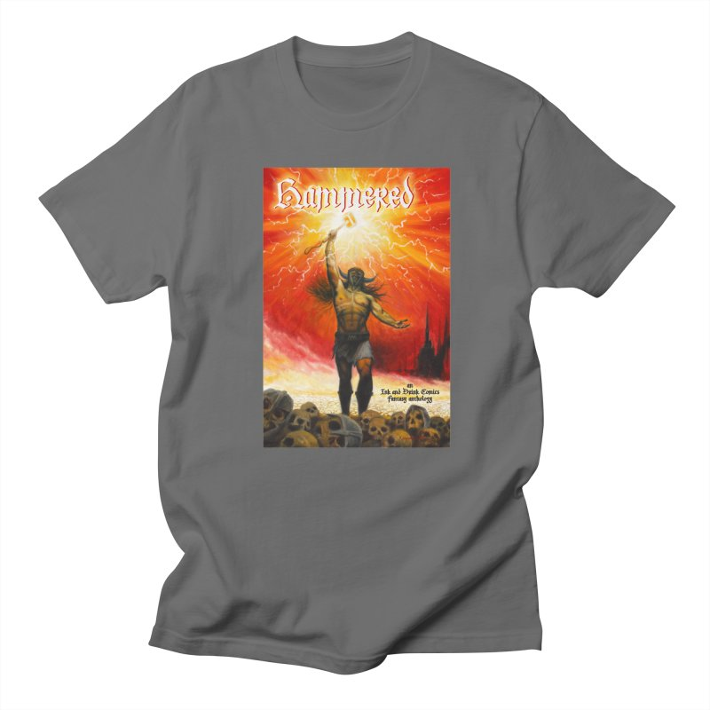 Hammered Men's Regular T-Shirt by Brain Cloud Comics' Artist Shop for Cool T's