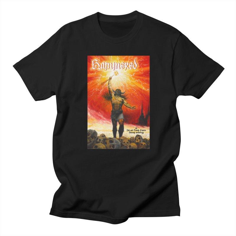 Hammered Men's Regular T-Shirt by Brain Cloud Comics' Artist Shop for Cool T's