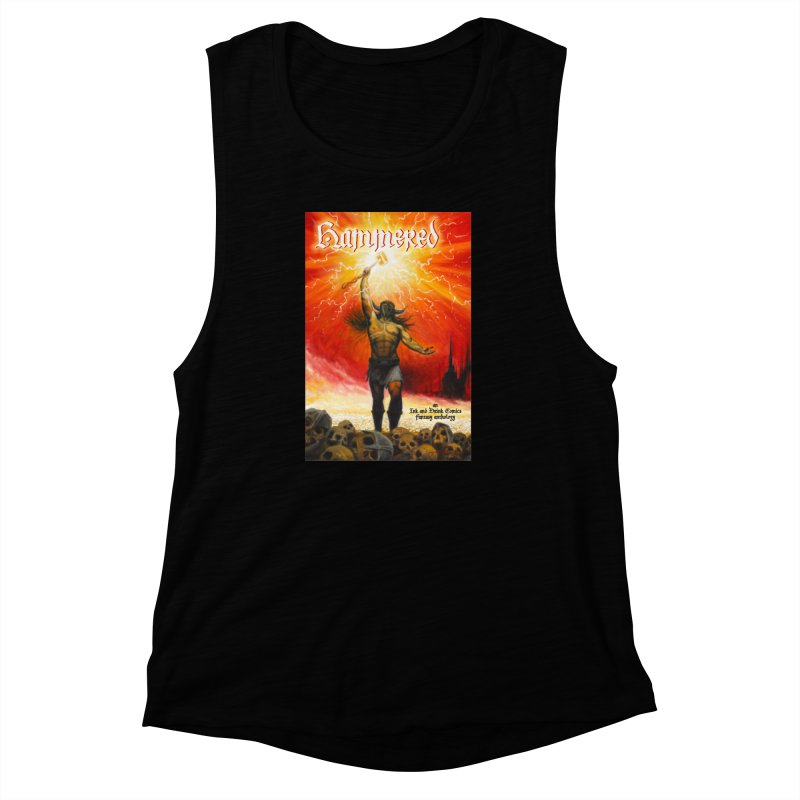 Hammered Women's Muscle Tank by Brain Cloud Comics' Artist Shop for Cool T's
