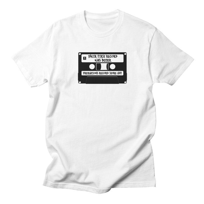 PRSG Mixtape Men's Regular T-Shirt by Brain Cloud Comics' Artist Shop for Cool T's
