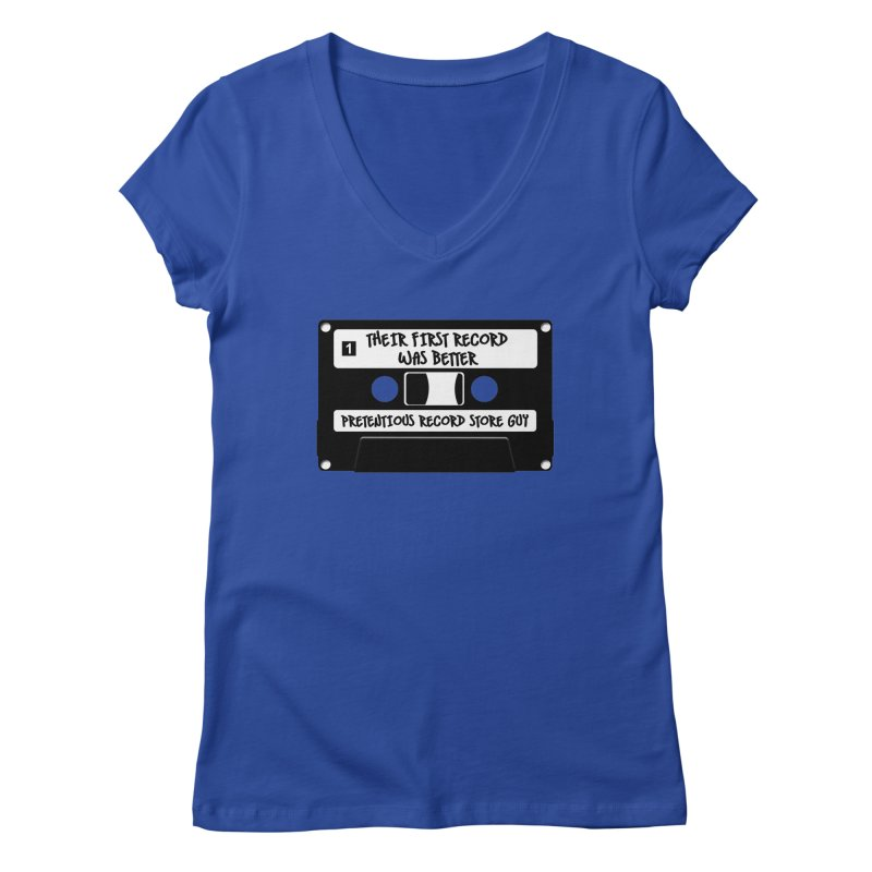 PRSG Mixtape Women's Regular V-Neck by Brain Cloud Comics' Artist Shop for Cool T's