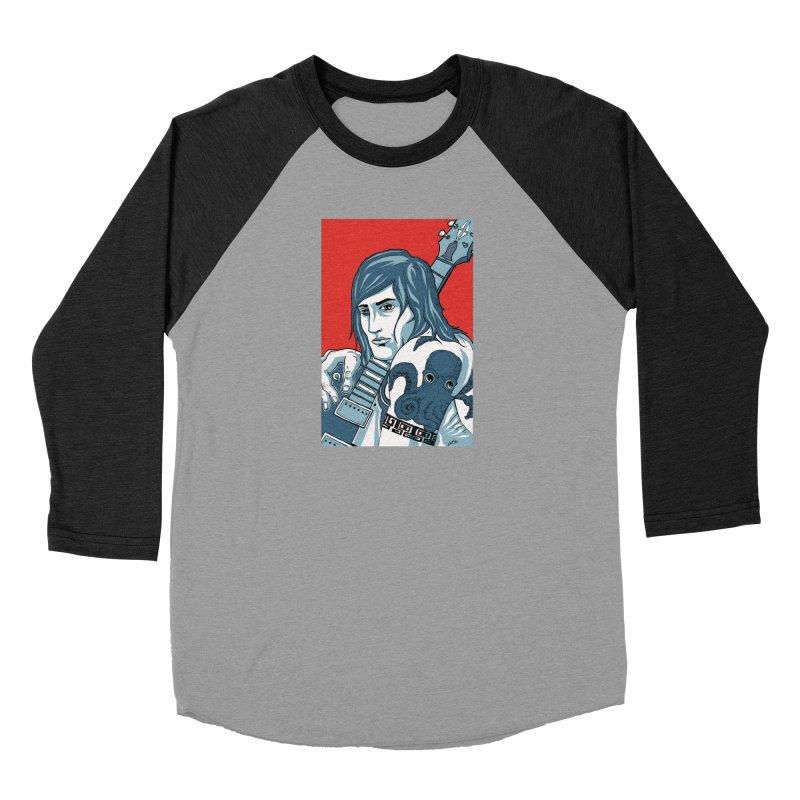 Pretentious Record Store Guy Heartthrob T-shirt Women's Baseball Triblend Longsleeve T-Shirt by Brain Cloud Comics' Artist Shop for Cool T's