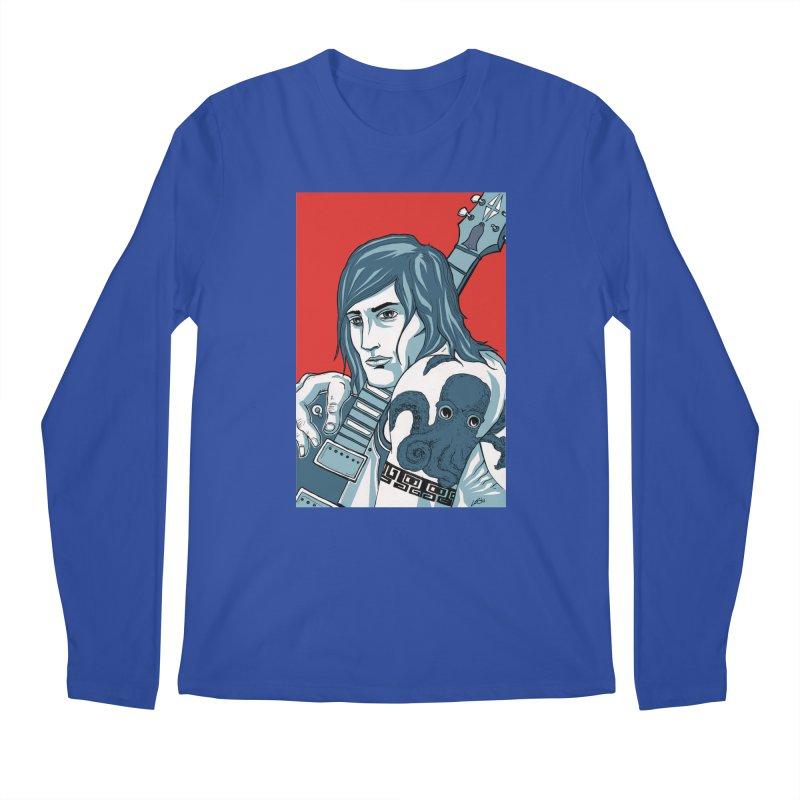 Pretentious Record Store Guy Heartthrob T-shirt Men's Longsleeve T-Shirt by Brain Cloud Comics' Artist Shop for Cool T's