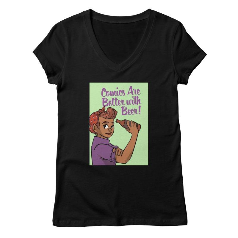Women's None by Brain Cloud Comics' Artist Shop for Cool T's