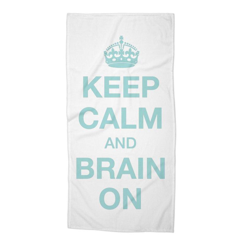 Keep Calm Accessories Beach Towel by Brain Injury Services Shop