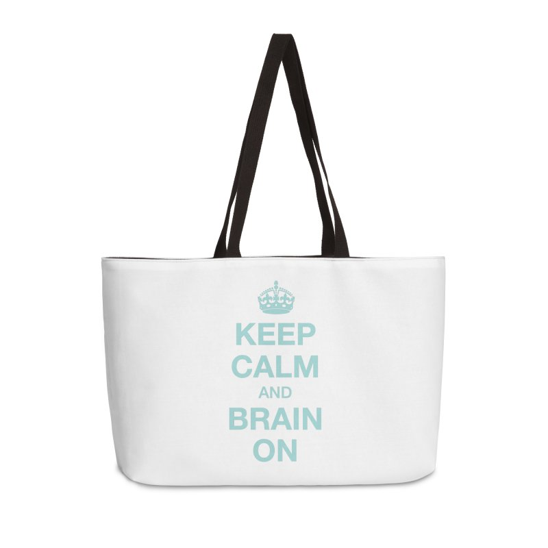 Keep Calm Accessories Bag by Brain Injury Services Shop