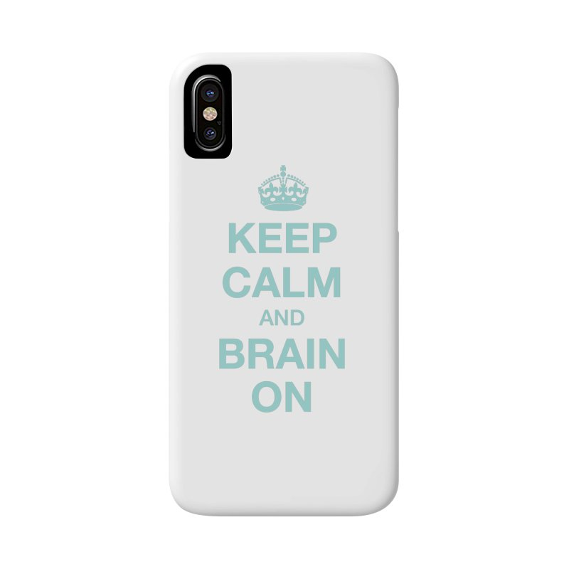 Keep Calm Accessories Phone Case by Brain Injury Services Shop