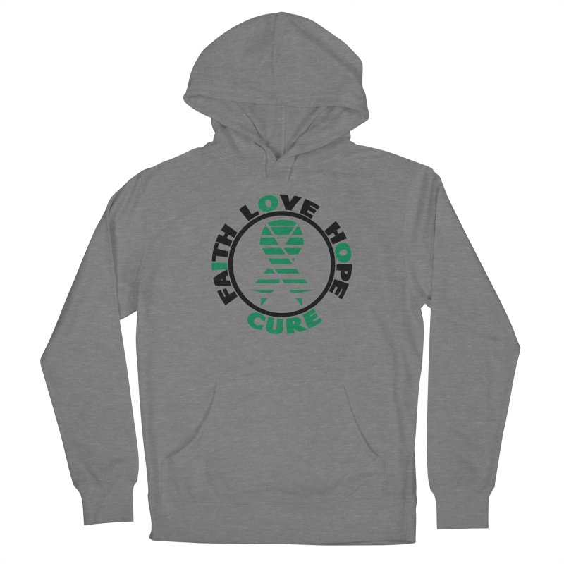 Faith, Love, Hope, Cure Women's Pullover Hoody by Brain Injury Services Shop