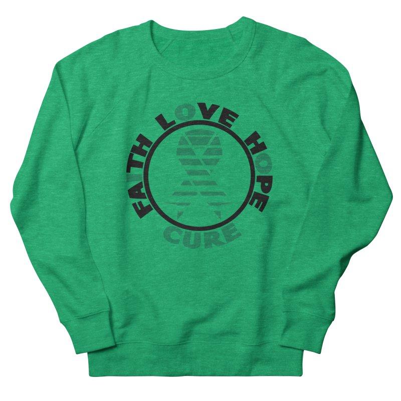 Faith, Love, Hope, Cure Women's Sweatshirt by Brain Injury Services Shop