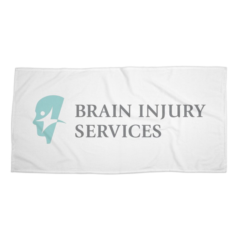 Brain Injury Services Accessories Beach Towel by Brain Injury Services Shop