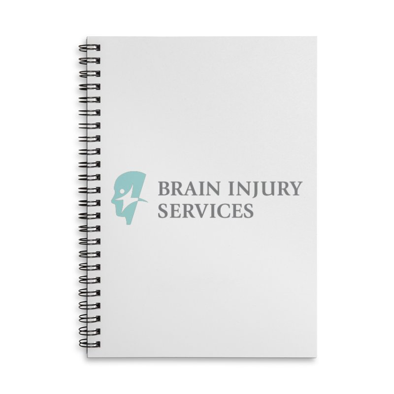 Brain Injury Services in Lined Spiral Notebook by Brain Injury Services Shop