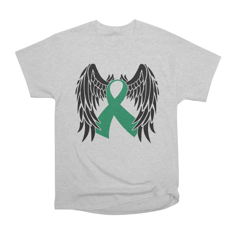 Angel Wings Men's T-Shirt by Brain Injury Services Shop