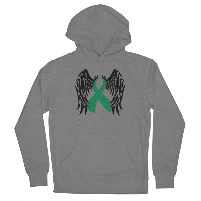 Angel Wings Women's Pullover Hoody by Brain Injury Services Shop