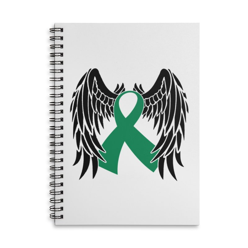 Angel Wings Accessories Notebook by Brain Injury Services Shop