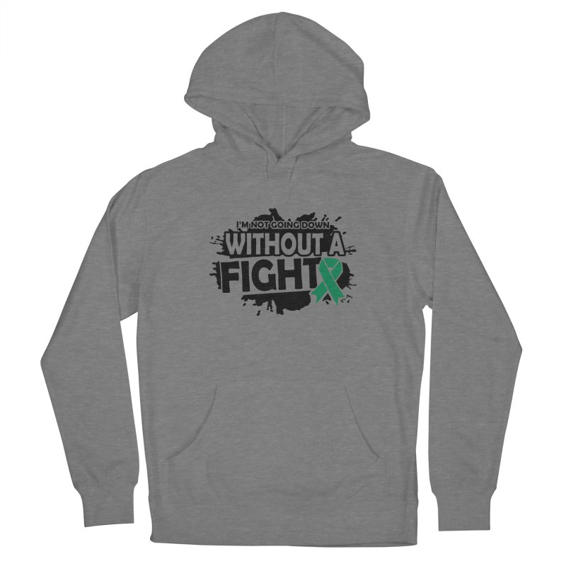 Without a Fight Women's Pullover Hoody by Brain Injury Services Shop