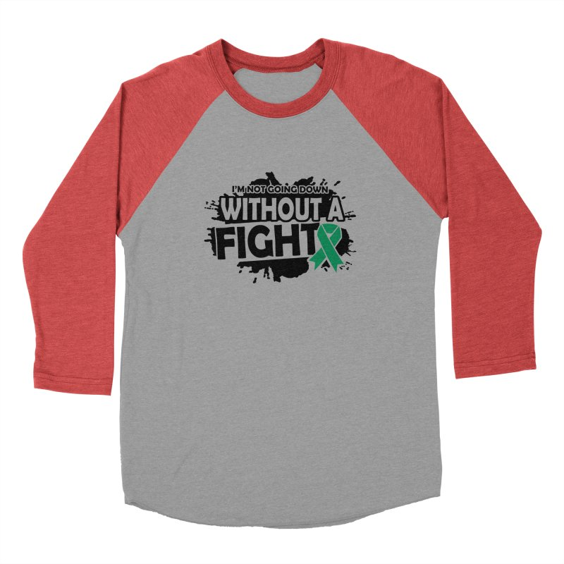 Without a Fight Men's Longsleeve T-Shirt by Brain Injury Services Shop