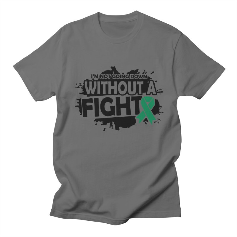 Without a Fight Men's T-Shirt by Brain Injury Services Shop