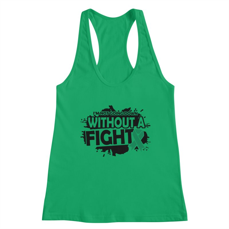 Without a Fight Women's Tank by Brain Injury Services Shop