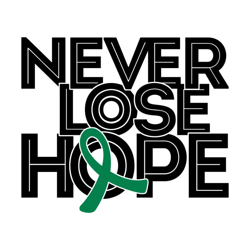 Never Lose Hope (Lines) Women's Scoop Neck by Brain Injury Services Shop