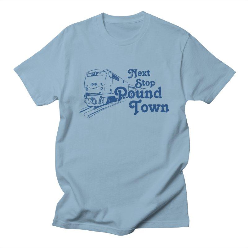 Pound Town Men's T-shirt by brandonb