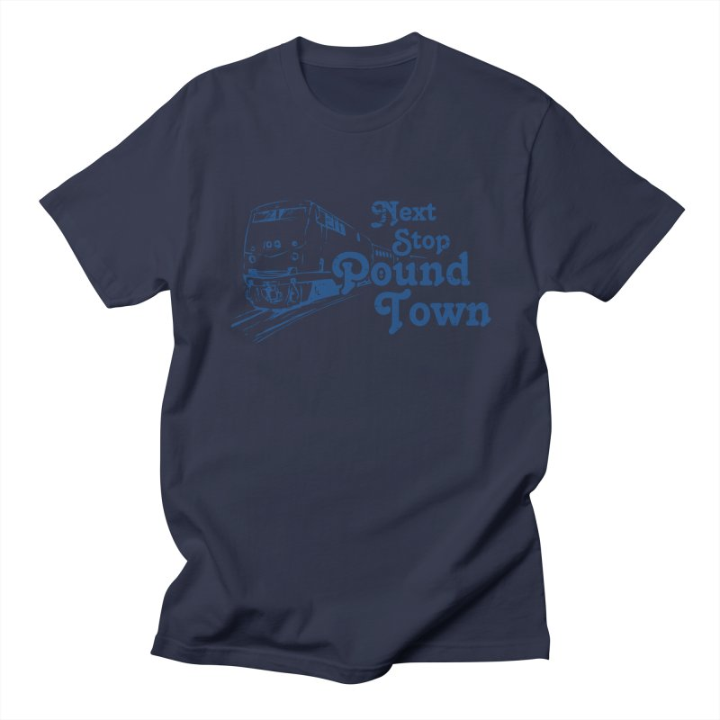 Pound Town Men's T-shirt by brandonb