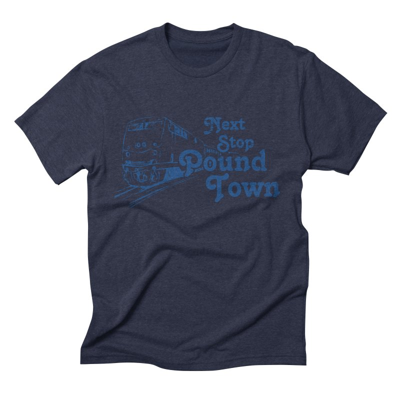 Pound Town Men's Triblend T-shirt by brandonb