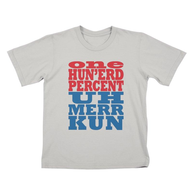 MerKun Kids T-Shirt by brandonb