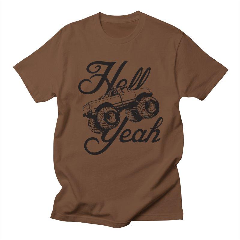 Hell Yeah Men's T-shirt by brandonb