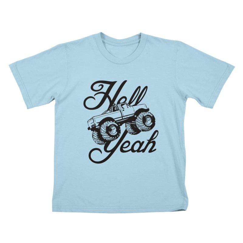 Hell Yeah Kids T-shirt by brandonb